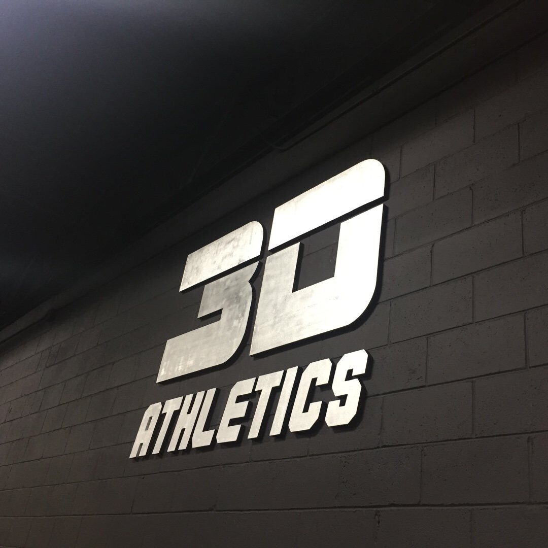 3D Athletics 💪💯⚾️🏈🏀🎾